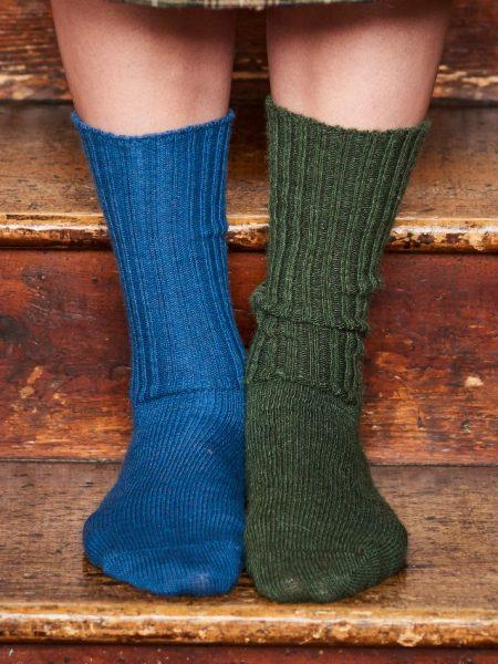 Alpaca Loose-top Socks