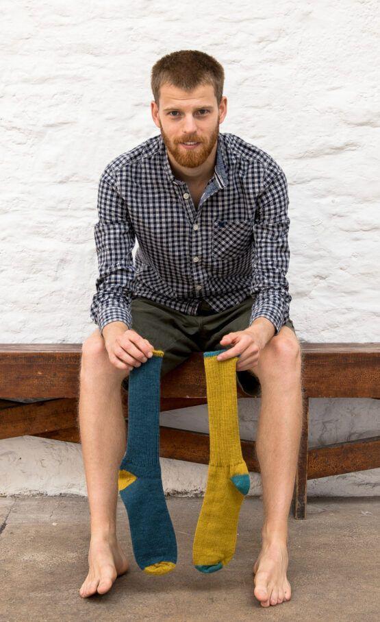 Exmoor wool sock
