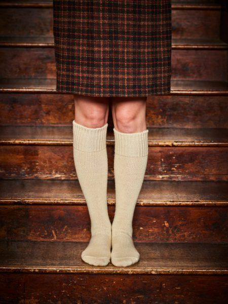 Wool Welly Boot sock
