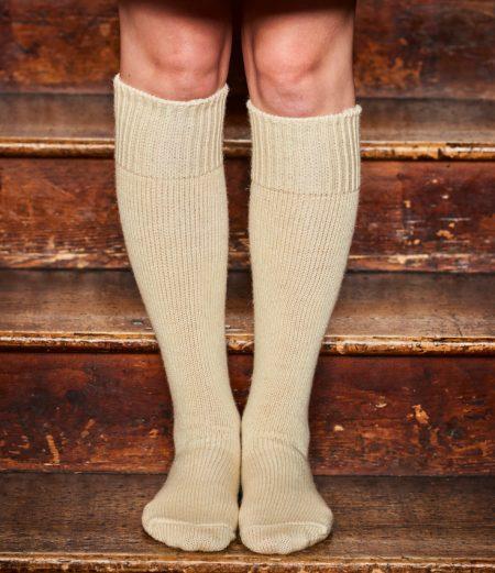 Welly Boot Socks in British Wool