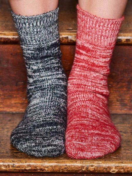 Alpaca Terry Loop Walking Socks