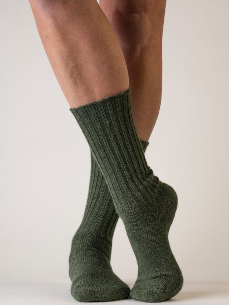 Alpaca Loose-Top Socks