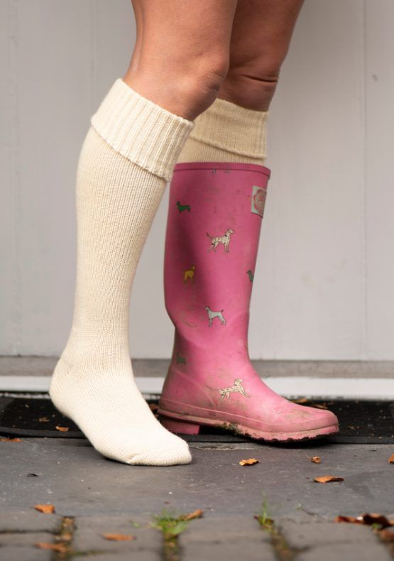 Welly Boot Socks