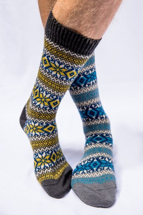 Frome Fairisle Socks