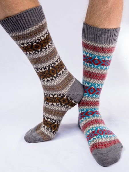 Frome Fairisle Sock