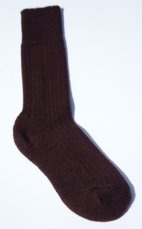 Cumbria Walker Sock aubergine